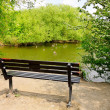 Stock Photo: Bench in the park