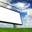 Stock Photo: Empty billboard