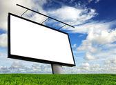 空の看板 — ストック写真