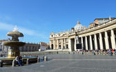 St. Peter's Square, Vatican City — Stockfoto