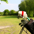 golf equipment — Stock Photo