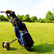 Golf equipment - Stok fotoğraf