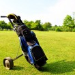Royalty-Free Stock Photo: Golf equipment