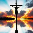 Crucifixion of Jesus Christ - Stock Photo