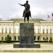 Stock Photo: Presidential Palace in Warsaw