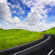 A winding road — Stock Photo