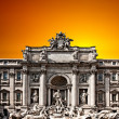 trevi fountain — Stock Photo #4351380