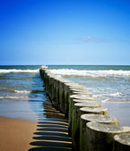 Coast scene — Stock Photo
