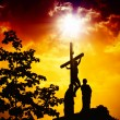 The Crucifixion of Jesus — Foto Stock