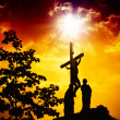 The Crucifixion of Jesus - Stock Photo