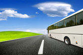 Tour bus — Stock Photo