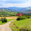 Mountain village landscape — Stock Photo