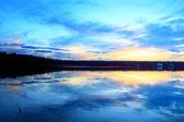 Blue Lake — Stock Photo
