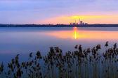 Factory Sunset — Foto Stock