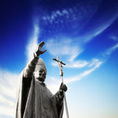 Statue of Pope — Stock Photo