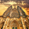 Stock Photo: Cathedral in Prague
