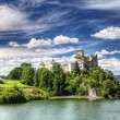 medieval dunajec castle in poland — Stock Photo