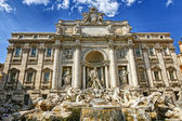 Trevi Fountain in Rome — Stock Photo