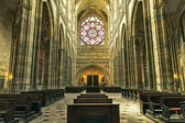 Prague cathedral, places of interest Europe — Stock Photo