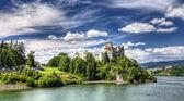Castelo medieval dunajec na polónia — Fotografia Stock