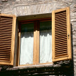 Stock Photo: Window,Umbria region, Italy