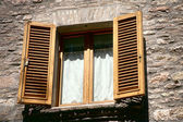 Window,Umbria region, Italy — Stock Photo