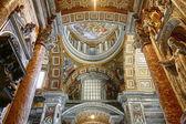 Interior of St Peter's Basilica — Stock Photo