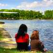 Weekend at the Lake — Stock Photo