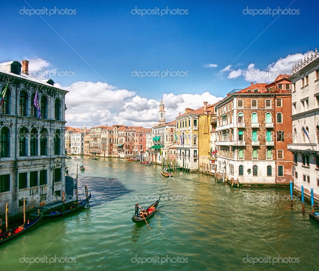 Grand Canal in Venice, Italy   Stock Photo #5046692