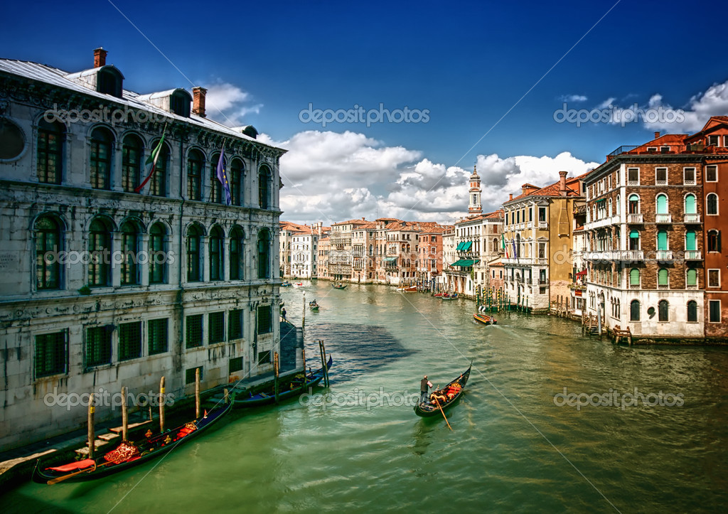 Venice Canals — Stock Photo #5129161