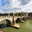 Stock Photo: Tiber river in Rome