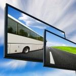 Tour Bus — Stock Photo
