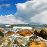 Ocean Stones — Stock Photo #5175900
