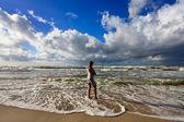 Burzliwy ocean — Zdjęcie stockowe