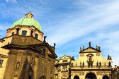 Prag kyrkorプラハ教会 — ストック写真
