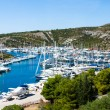 Adriatic Yacht Charter, Croatia — Stock Photo