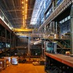 Fabrika alanı içinde — Stok fotoğraf