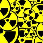 Radiation sign background — Stock Photo #5267622