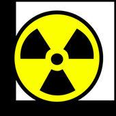 Radioactive energy — Stock Photo
