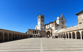 Basilica of St. Francis in Assisi — Stock Photo