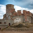 Stock Photo: Ruins of medieval castle