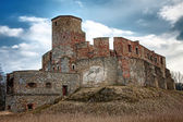 The ruins of a medieval castle — Stock Photo