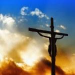 Salvatore sulla croce — Foto Stock