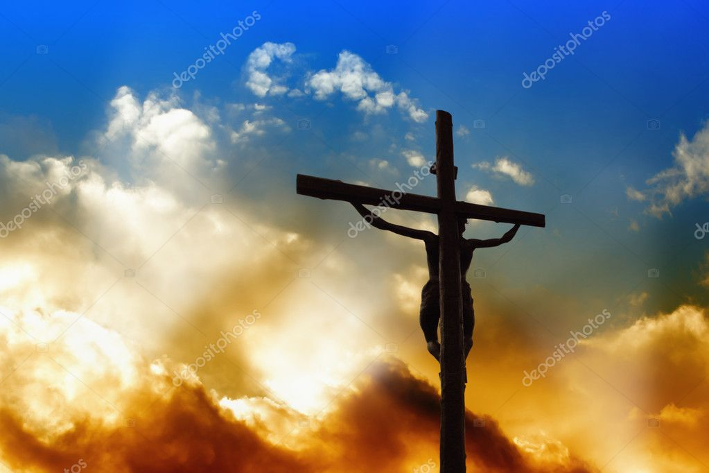 Savior on the Cross — Stock Photo #5353912