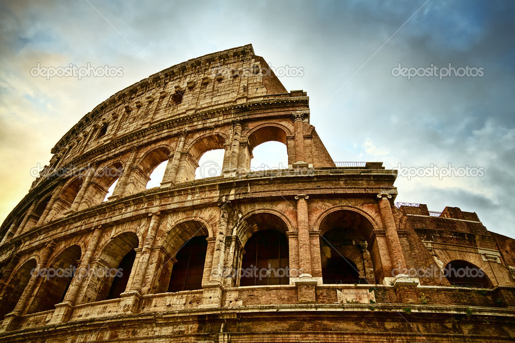 Colosseum in Rome, Italy  Stock Photo #5359637