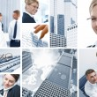 Corporate mix — Stock Photo
