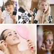 Stock Photo: Make up mix