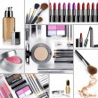 Stock Photo: Makeup mix