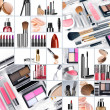 Collage make up - Stockfoto