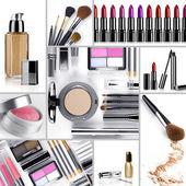 Makijaż mix — Zdjęcie stockowe